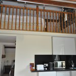 mezzanine sleeping area Ullswater room