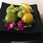 Fruit in your room upon arrival :)