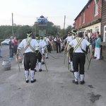 Morris dancers at the Horns Lodge