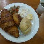 羽田2の方でもいただける朝食(パン食)