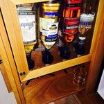 Alcohol in room