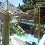 zona niños piscina
