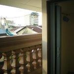Dorm balcony