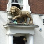 Lion over the door