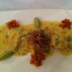 Prawn ravioli - sophisticated and delicious