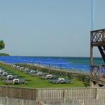 une des  deux plages privées de l'hôtel
