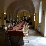 The hall at our Palazzo in Spongano