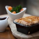 Steak & Ale Pie...de Savary Style
