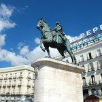 Statue of King Carlos III