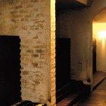 Inside the mountain cellar