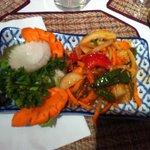 Salade calamar
