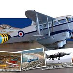One of our two beautiful Dragon Rapides