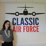 Heather - the manager at Classsic Air Force