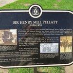 Sir Henry Pellatt plaque