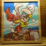廊下のポップアート