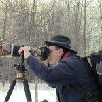 Photographe prenant de la grand duc