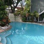 Pool at the Cabana Inn June 2014