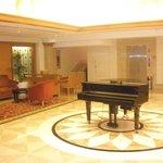 piano at lobby