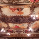 The stunning ceiling
