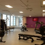 In-house fitness room