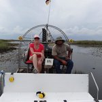 The airboat & it's captain