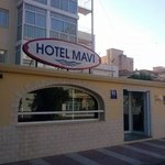 Entrada Hotel Mavi