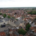 Vista da Burgplein (Praça Burg).