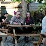 The new look beer garden