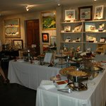 The gallery can be rented for private parties