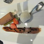 Sucette Chocolat Caramel, Biscuit Moelleux Pistache, Glace Vanille