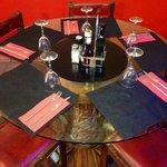 Mesa para cinco.....
