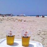 Пиво и море