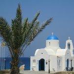 chapel next to the sea