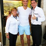 Andy Carroll, English footballer. Excellent player and true gentleman.