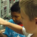 The kids loved flipping switches, hands on museum