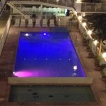 The Lights in the pool add a special Paradise atmosphere.
