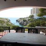 View from patio - Villa Nayade