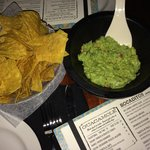 Guacamole was OK - nothing special though