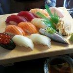Diverse Nigiri mit hervorragendem Fisch
