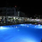 Nightime Pool