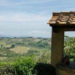 The hills in Chianti