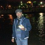 Hotdog a beira do Sena!!! Noite perfeita!!!
