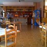 Spacious restaurant