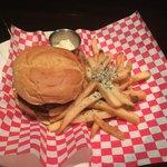 Hamburger especial do dia!