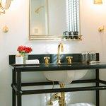 Guestroom bath vanity