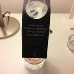 bottiglia acqua gratuita