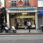 Ulysses Rare Books is right next door to where you meet!