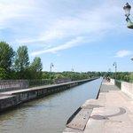 le canal de Briare pas loin