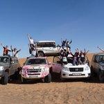 Raid 4x4 dans les dunes de Merzouga, organisé par la Kasbah 123 Soleil