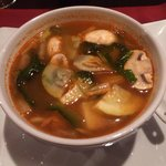 Tom Yum with vegetables